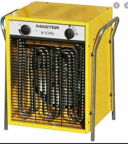 Generatori d'aria calda - B 15 (Corrente Elettrica)