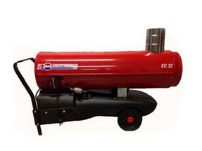 generatori d'aria calda - EC 32 (combustione indiretta)