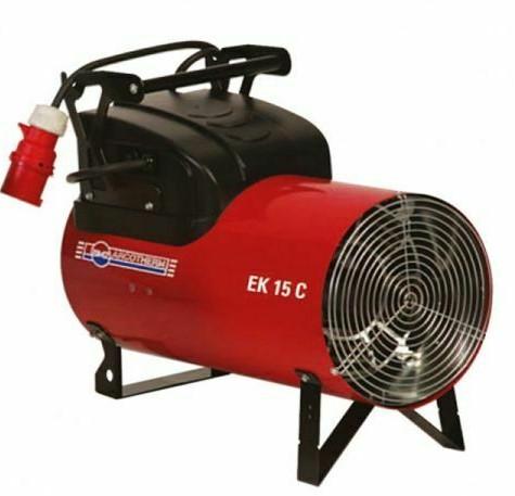 Generatori d'Aria calda - EK 15 C (Corrente Elettrica)
