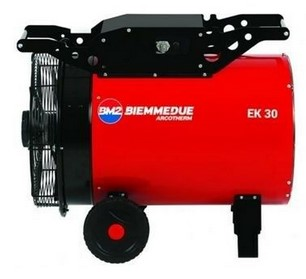 Generatori d'aria calda - EK 22 (corrente elettrica)