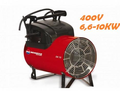 Generatori d'Aria calda - EK 10 C (Corrente Elettrica)