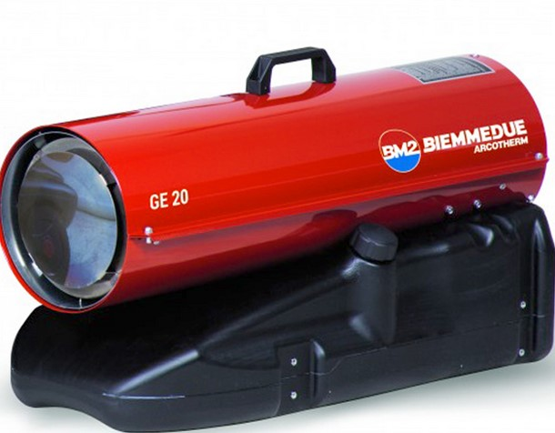 Generatori d'Aria calda BM2 GE 20 (combustione diretta)