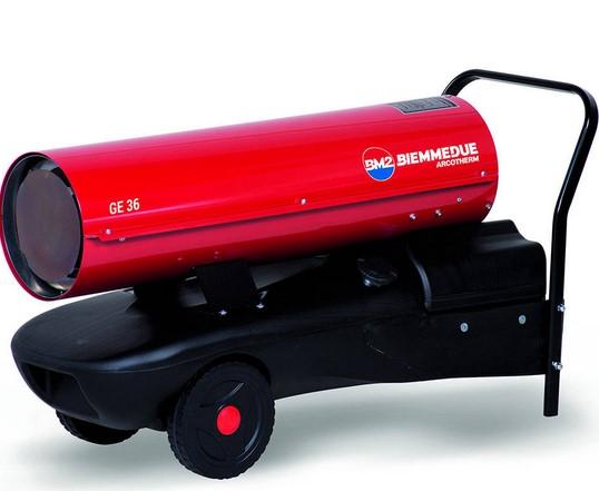 Generatore d'aria calda - GE 36 (combustione diretta)