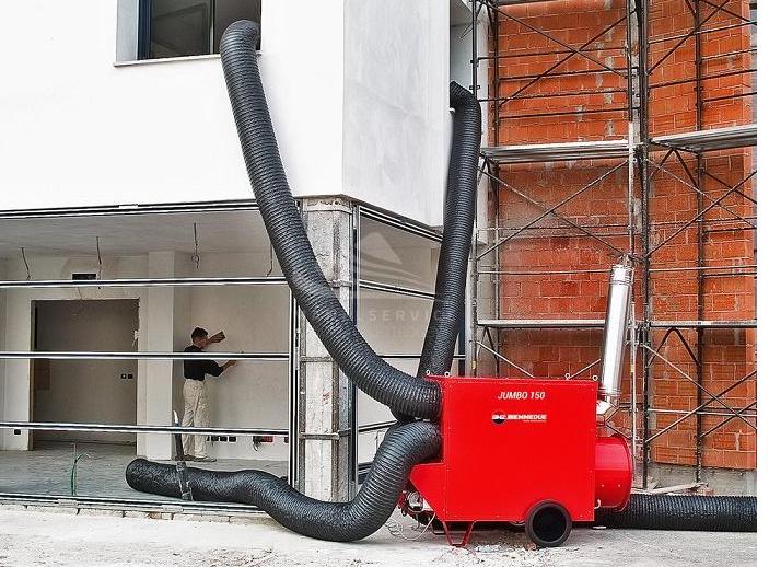 Generatori d'Aria calda BM2 - Jumbo 85 M - Mot. Riello Gasolio
