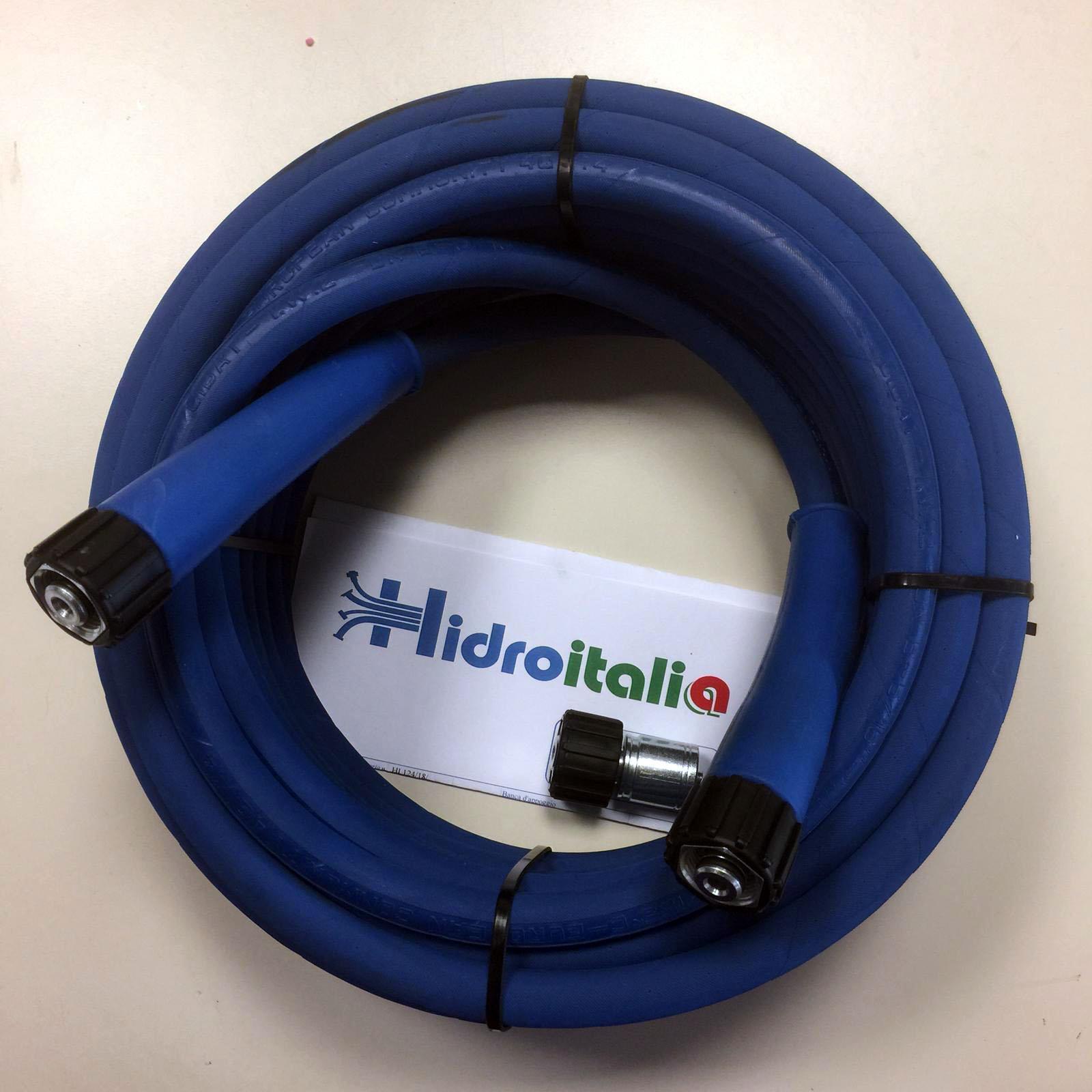 "Tubo R2T 5/16"" Blu 10 Mt Girella/Girella 22x1,5+Manicotti"